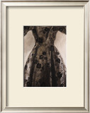 Black Dress Drawing Art by Richard Nott