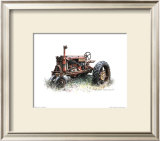 Early Model Farmall Tractor Prints by Sharon Pedersen