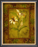 Garden Lilies I Poster by Allyn Engman