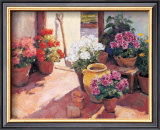 Flower Pots Prints by Edward Noott