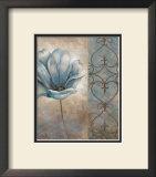 Fleur Bleue II Prints by Vivian Flasch