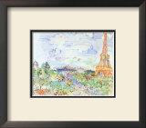 La Tour Eiffel, c.1935 Prints by Raoul Dufy