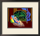 Exotica Framed Giclee Print by  MASACO