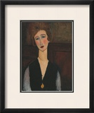 Portrait of a Woman, c.1918 Prints by Amedeo Modigliani