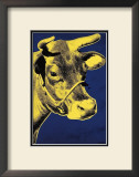 Cow, c.1971 (Blue and Yellow) Print by Andy Warhol
