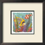 Tropical Fish II Prints by Linn Done