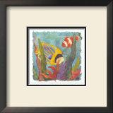 Tropical Fish II Prints by Linn Done