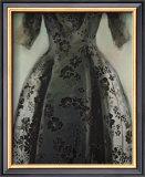 Black Balenciaga Dress Prints by Richard Nott