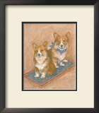 Corgis Prints by Carol Ican