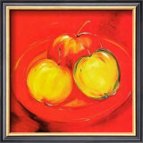Apple Platter Print by Alfred Gockel