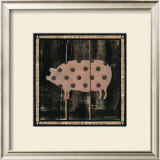 Polka Pig IV Prints by Lisa Hilliker