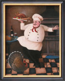 Turkey Chef II Posters by T. C. Chiu
