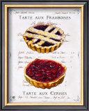 Tartes aux Cerises et Framboises Prints by Ginny Joyner