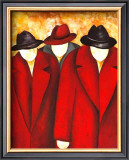 Three Wise Man I Prints by Gisela Ueberall