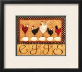 Eggs in a Row Prints by Dan Dipaolo