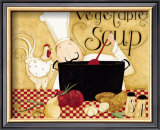 Vegetable Soup Prints by Dan Dipaolo