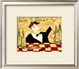 Wine and Dine Art by Dan Dipaolo