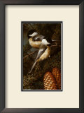 Chickadees Prints by Carl Brenders