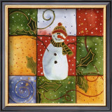 Snowman Prints by Carol Robinson
