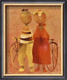 The Olfts III Posters by Gisela Funke