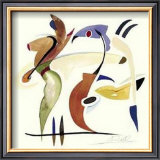 Fishing in the Abstract Posters by Alfred Gockel