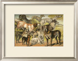 Dog Breeds II Art by Henry J. Johnson