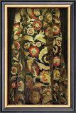 Goldflower Kaftan Posters by Richard Nott