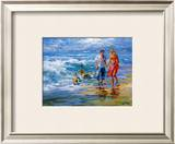 Happy Family II Print by Willem Haenraets
