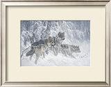 Edge of Winter (detail) Art by Larry Fanning