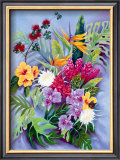 Island Floral Posters by Warren Rapozo