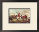 English Hunting Scenes I Print by William Joseph Shayer