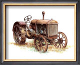 Early Model Mccormick-Deering Tractor Posters by Sharon Pedersen