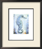 Seahorse Prints by Silvana Crefcoeur