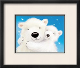 Fluffy Bears IV Prints by Alison Edgson