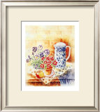 Pansies Prints by Denise