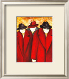 Three Wise Man I Art by Gisela Ueberall