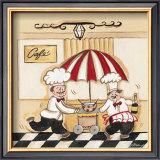 Café Print by Joy Alldredge
