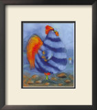 Chicken Pebbles Prints by Anthony Morrow