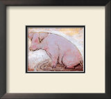 Pig Prints by Silvana Crefcoeur