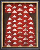 Red Kaftan Posters by Richard Nott
