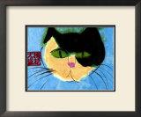 Cat's Head Print by Walasse Ting
