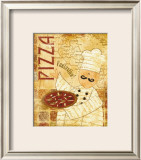 Pizza and Pasta I Prints by Veronique 