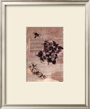 Antique Flowers III Prints by Jeanne Hughes
