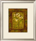 Garden Lilies II Prints by Allyn Engman