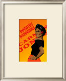 Dorothy Dandridge Framed Giclee Print by Clifford Faust