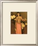 Banana Girl Prints by John Kelly