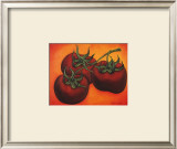 Three Tomatoes Prints by Will Rafuse