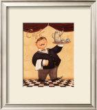 The Waiter, Cafe Art by Daphne Brissonnet