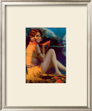 Starlight Wahine Poster by Gene Pressler