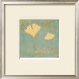 Ginkgo Inspiration Prints by Booker Morey